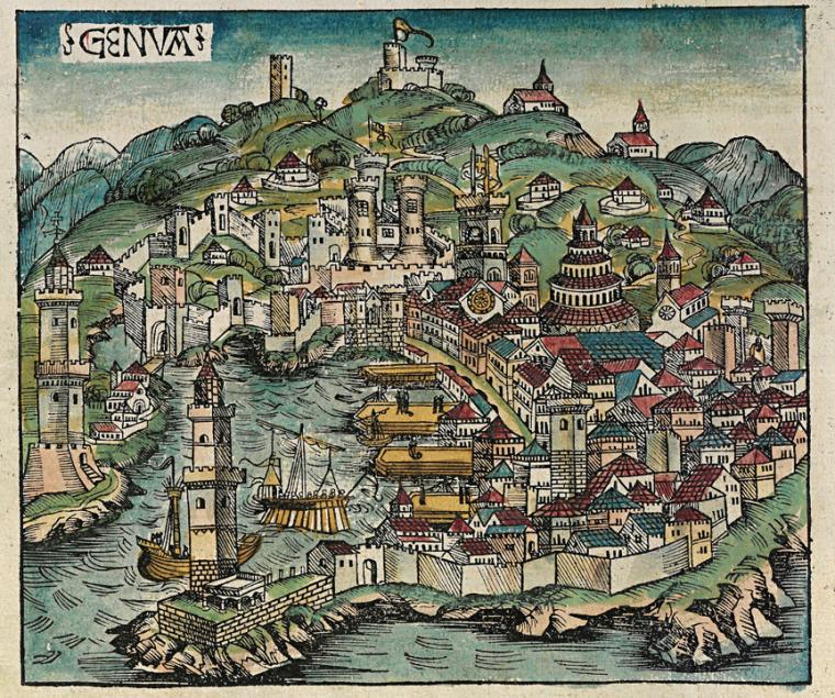 GENVA - Stampa medievale