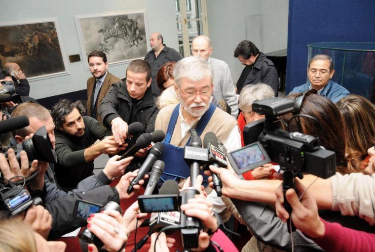 Sergio Cofferati annuncia il proprio addio al Partito Democratico, 17/01/2015