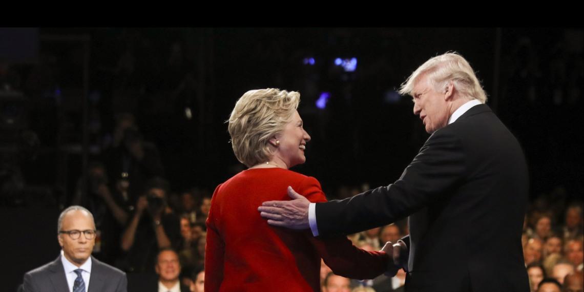 Il secondo dibattito tra Clinton e Trump