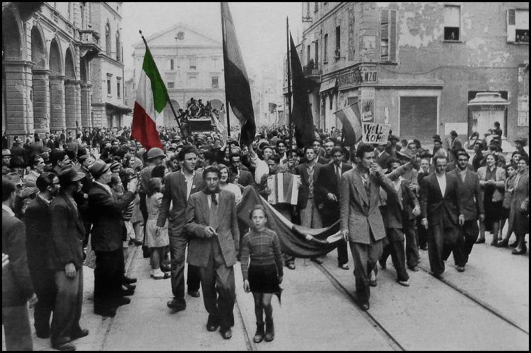 25 aprile 1945 a Livorno, liberazione